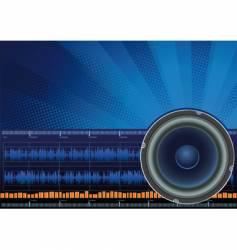sound vector image vector image