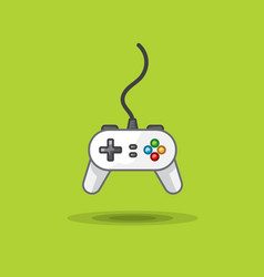 icon of game joystick to play station on vector image vector image