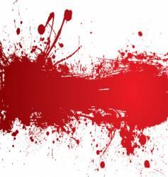 blood strip vector image vector image
