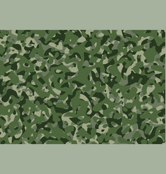 Army camouflage background pattern green camo vector