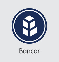 Bancor digital currency - element vector
