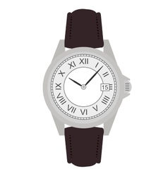 Business hand watches No outline vector
