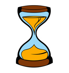 Hourglass icon icon cartoon vector