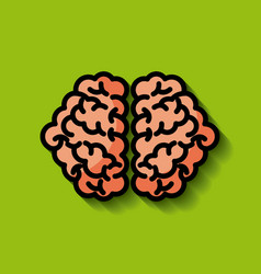 Human brain concept image vector