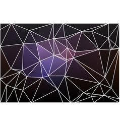Purple brown black geometric background with mesh vector