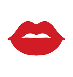 Sexy lips icon vector