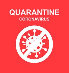 Stay home quarantine coronavirus epidemic vector