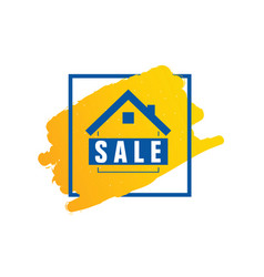 home sale icon vector image vector image