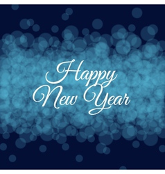 happy new year card light background vector image vector image