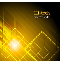 Shiny hi-tech background vector image vector image