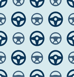 seamless ornament the wheel of a car vector image