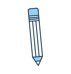 pencil school isolated icon vector image vector image
