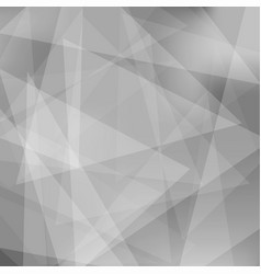 abstract gray triangle background vector image
