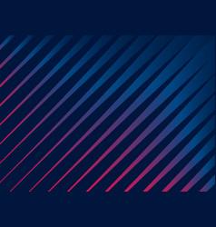 Colorful dark diagonal stripes background vector