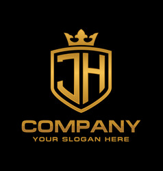 Jh logo vector