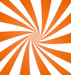 Orange spiral pattern background vector