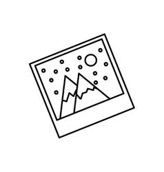 Picture of landscape vector