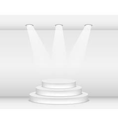 Podium vector