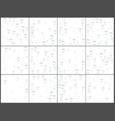 transparent bubble confetti celebrations simple vector image