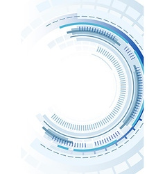 Technology Circles Background vector image vector image