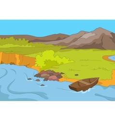 Lake Shore vector image