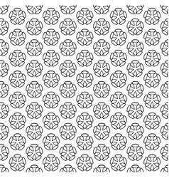 Art deco hexagonal seamless vintage wallpaper vector