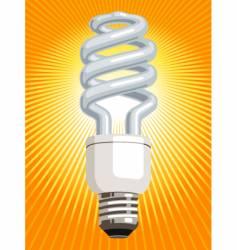 energy saver light bulb vector image