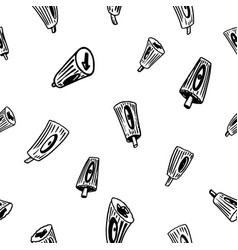 Hand drawn nozzles for aerosol cans in doodle vector