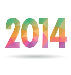 Happy New Year 2014 vector