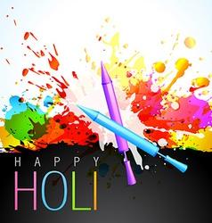 Holi festival vector