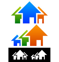 house composition real estate concept vector image