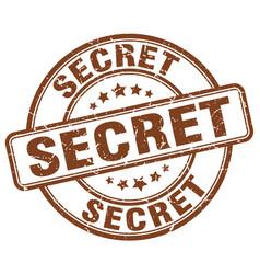 Secret stamp vector