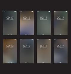 set abstract dark vertical hd wallpapers vector image