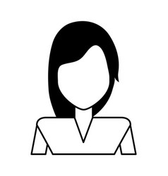 Woman avatar icon image woman avatar icon imag vector