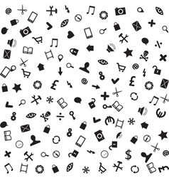 web business and mobile icons vector image vector image