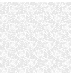 Seamless pattern with leaf and flower vector image vector image