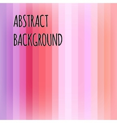 Pink abstract striped background vector image vector image