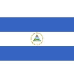 Nicaragua flag image vector image