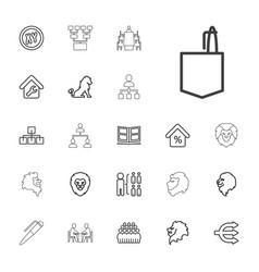 22 company icons vector