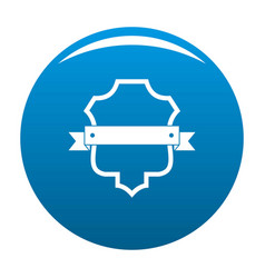 badge guardian icon blue vector image
