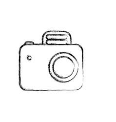 Figure camera symbol icon design vector