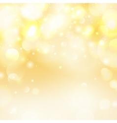 bokeh yellow backgroundUniversal festive vector image