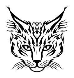 cat head vector image vector image