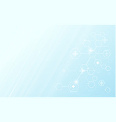 abstract geometric hexagons modern background vector image