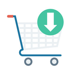 Add cart vector