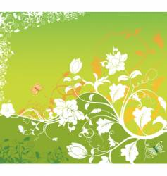 background flower vector image