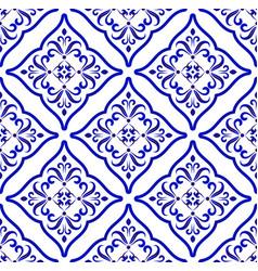 Ceramic pattern islamic style vector
