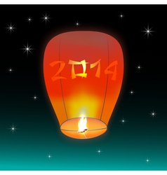 Chinese lantern 2014 vector