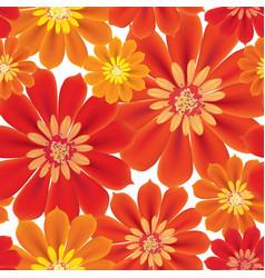 flowers seamless background floral seamless vector image
