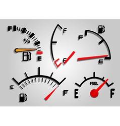 Fuel Indicator vector